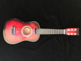 UKELELE Red  / Black wood STRING INSTRUMENT - $29.00