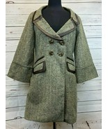 BCBGeneration Pea Coat Style Button Up Jacket Coat Size M NEW NWT Double... - $69.69