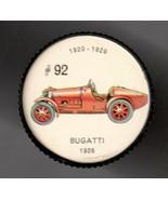 1926 BUGATTI Jell-O Picture Wheel #92 - $5.00