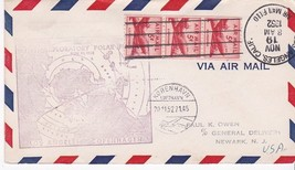 FIRST FLIGHT LOS ANGELES, CA - COPENHAGEN NOVEMBER 19, 1952 FIRST EXPLOR... - $2.98