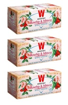 Wissotzky Tea Rosehip and Hibiscus,  3/20 tea bags    - $18.55