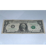 2006 $1 One Dollar Bill 3 #'s 4,5,6 65545464 Fancy Serial Number US Bank... - $13.78