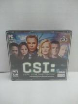 CSI Crime Scene Investigation PC CD-ROM 2003 Interactive Crime-Solving A... - $8.51