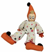 """Vintage 1960'S Knickerbocker Knick The Clown 21"""" Rare And Hard To Find! - $48.37"""