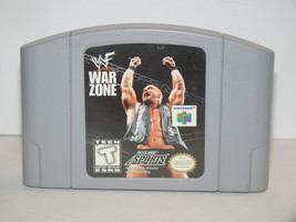 Nintendo 64 - WWF WAR ZONE (Game Only) - $12.00