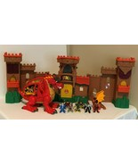 Fisher Price Imaginext Eagle Talon Castle Figures Knights Dragon Lights ... - $99.99