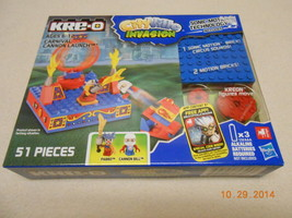 Kre o Cityville Invasion Carnival Cannon Launch 51 Pc building toys Vale... - $9.41