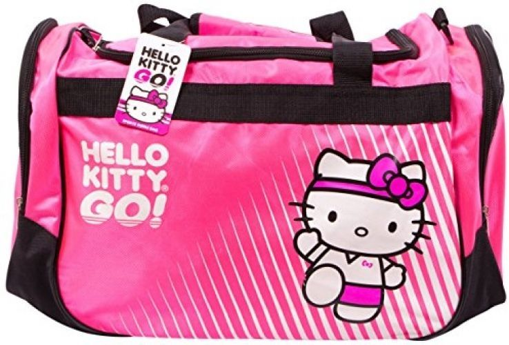 6cfd8f37b247 Hello Kitty Sports Duffle Bag Hot Pink Small and 25 similar items. S l1600