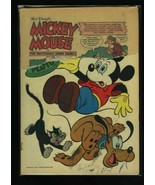 Walt Disney's Mickey Mouse #50 P 1956 Dell Comic Book - $1.63