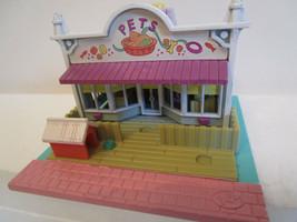 Polly Pocket Bluebird 1993 PET SHOP Building Houses  - No Dolls - $7.99