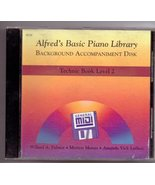 Alfred's Basic Piano Library General MIDI - Technic Level 2 - $16.65
