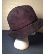 Black Bucket Hat Cap Polyester Sz Small Hipster Hip (hb9) - $9.49