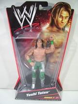 NEW WWE YOSHI TATSU ACTION FIGURE ALL BLACK HAIR SERIES 7 MATTEL 2010 - $34.25