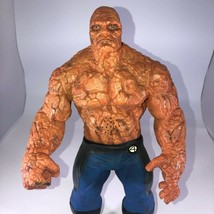 """Marvel Fantastic Four The Thing Talking Action Figure 14"""" Rubber 2005 - $19.79"""