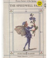 The Speedwell Fairy Cross Stitch Pattern Picture Whimsical Cicely Mary Barker - $10.00