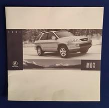 2001 Acura MDX SUV Sale Dealership Original Brochure-Honda - $14.96