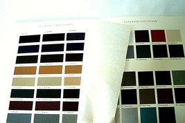 1990 Mercedes Owners sales brochure Paint color Chart upholstery new original sl - $19.79