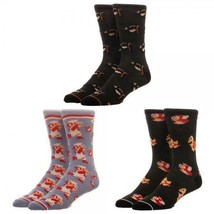 Wonder Woman 3 Pack Crew Set Socks For Women - $15.84