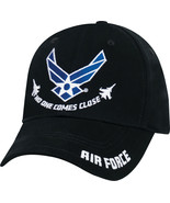 "Black Air Force ""No One Comes Close"" Cap Low Profile US Air Force Hat - $14.99"