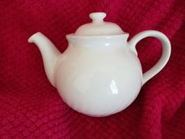 Teapot Corning Corelle Coordinates ENHANCEMENTS White Swirl 1-Qt. 2001 - $38.65