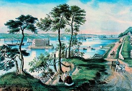 Staten Island by Nathaniel Currier - Art Print - $19.99+