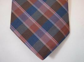 """NEW  Wembley Short Necktie Tie 53"""" x 3""""  Plaid  #475 - $14.99"""