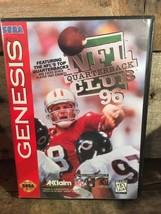 NFL Quarterback Club 96 (Sega Genesis) Videogioco - $3.66