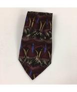 J Garcia Ken Nordine Collection Twenty-Eight Neckie Mens Neck Tie 100% S... - $19.79