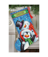 "Dimensions Stocking Needlepoint Kit 16"" Long-Polar Pals Stitched In Thread - $36.89"