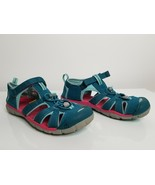 KEEN Hiking Trail Sandals Shoes Womens Size 5 Washable Blue/Teal - $28.99
