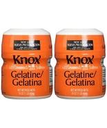 Knox Gelatine 2-16oz Plastic Container Unflavored - $24.49