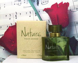 Nature Pour Homme EDT Spray 1.7 FL.  Oz. By Yves Rocher. - $99.99