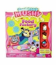 Smooshy Mushy Food FactoryBoard Game Toy Gift - 1 Mystery +3 Figures -New - $7.87