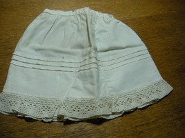 Antique Vintage  Doll Teddy Bears Petticoat  Bloomers Underwear crochet ... - $5.00