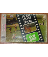 WIDE WORLD OF SPORTS GOLF GAME 1975 MILTON BRADLEY COMPLETE CONTENTS EXCELLENT - $5.00