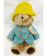 Paddington bear Peru to London Eden toys 1975 vintage as is blue coat pl... - $7.50