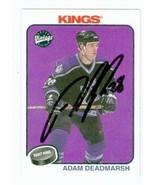 Adam Deadmarsh autographed Hockey Card (Los Angeles Kings) 2001 Upper De... - $14.00
