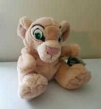 "Walt Disney Nala Lion Hand Puppet The Lion King 8"" Plush Stuffed Animal ... - $12.50"