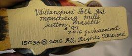 Vaillancourt Folk Art , Sleigh Ride Elf  signed by Judi Vaillancourt image 5
