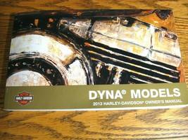 2013 Harley-Davidson Dyna Owner's Owners Manual Super Glide SwitchbackFat Bob - $44.55