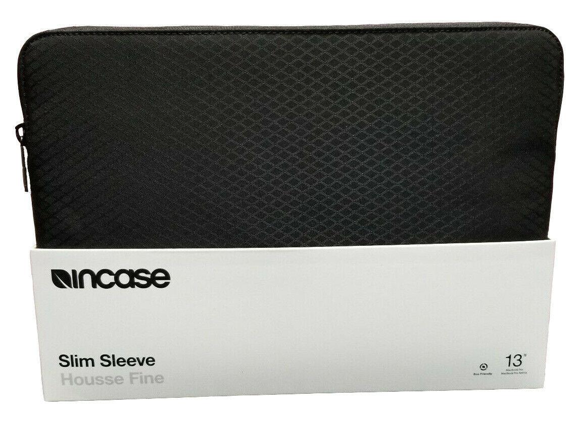 "Incase Slim Sleeve w/Diamond Ripstop for MacBook 13"" Pro/Air Retina -Black- New"