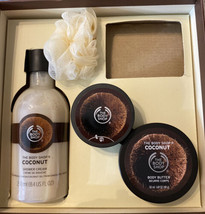 The Body Shop Coconut Shower Cream 8.4 oz. Gently used creams. Missing soap . - $14.85
