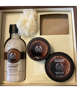 The Body Shop Coconut Shower Cream 8.4 oz. Gently used creams. Missing s... - $14.85