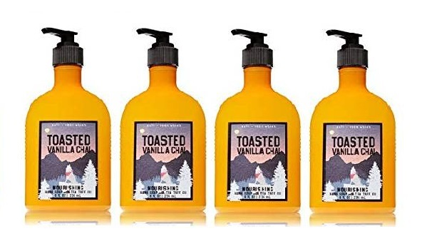 Toasted vanilla chai nourishing 4 pack