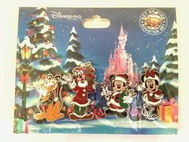 Disneyland Paris 4 Pin Christmas 2017 Booster Set - $17.81