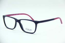 New Polo Ralph Lauren Ph 2129 5515 Blue Eyeglasses Authentic Frame Rx 51-16 - $53.50