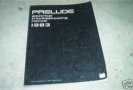 1983 HONDA PRELUDE Electrical Troubleshooting Wiring Diagram Service Manual EWD - $11.84