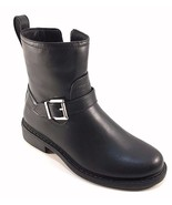 Cougar Janet Black Waterproof Round Toe Low Heel Riding Ankle Boots Size 9 - $53.40