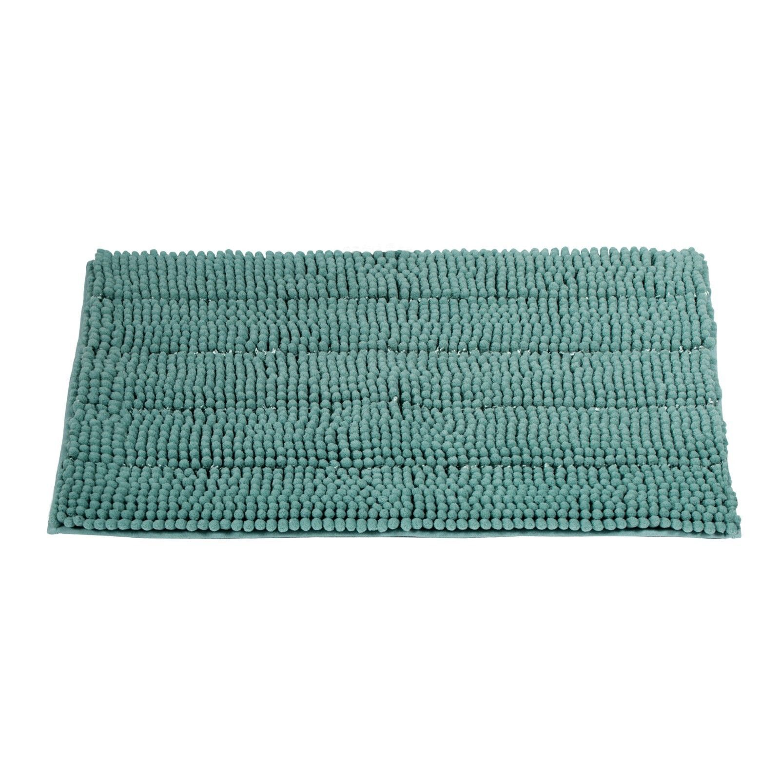 Non-Slip Bathroom Rugs Chenille Microfiber Floor Shower Mat Fast Water Absorbent