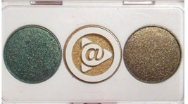 Mary Kay AT PLAY Just for EYES  Eye Shadow Green Gold Bronze Shimmery NIB 066491 - $2.50